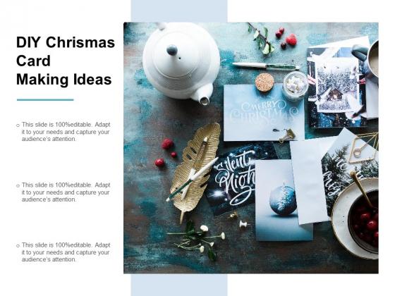 DIY Chrismas Card Making Ideas Ppt PowerPoint Presentation Summary Diagrams