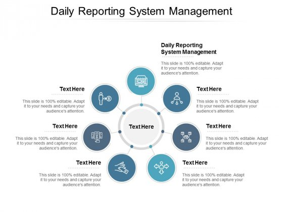 Daily Reporting System Management Ppt PowerPoint Presentation Gallery Maker Cpb
