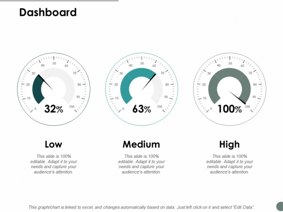Dashboard Business Marketing Ppt Powerpoint Presentation Icon Maker