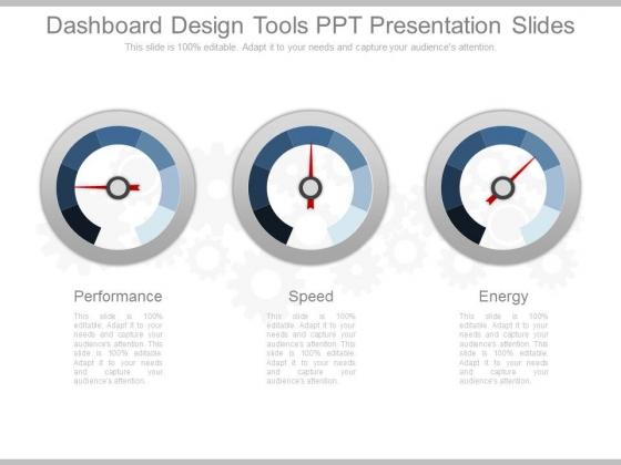 Dashboard Design Tools Ppt Presentation Slides