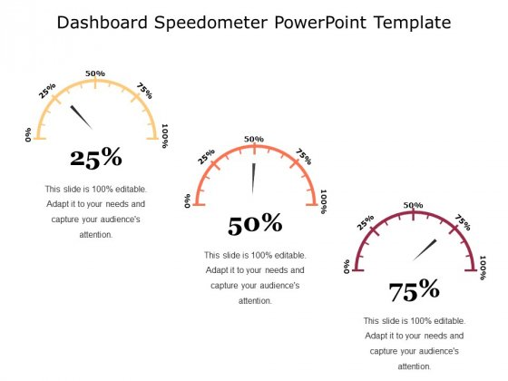 Dashboard Free PowerPoint Slide