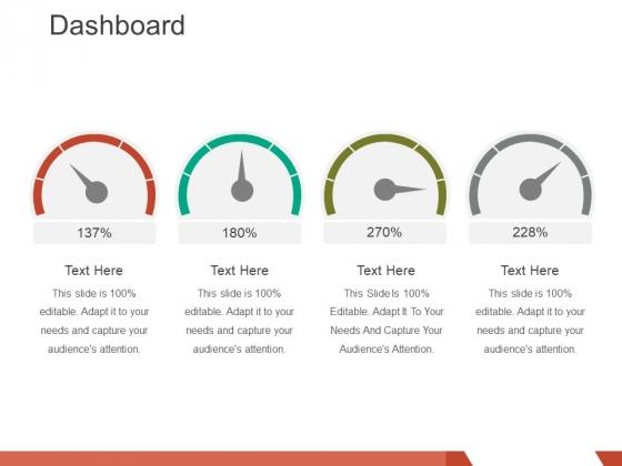 dashboard ppt powerpoint presentation gallery deck