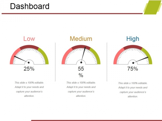 Dashboard Ppt PowerPoint Presentation Gallery Guidelines