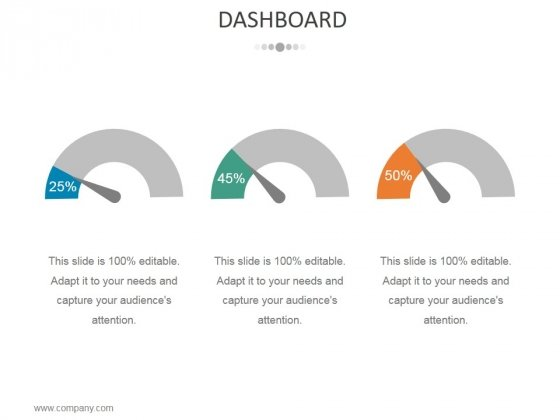 Dashboard Ppt PowerPoint Presentation Outline Show