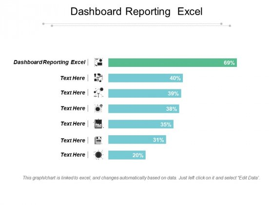 Dashboard Reporting Excel Ppt PowerPoint Presentation Layouts Templates Cpb