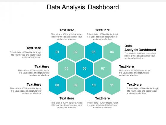 Data Analysis Dashboard Ppt PowerPoint Presentation Styles Maker Cpb