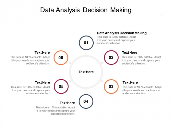 Data Analysis Decision Making Ppt PowerPoint Presentation File Layouts Cpb Pdf