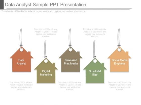 Data Analyst Sample Ppt Presentation