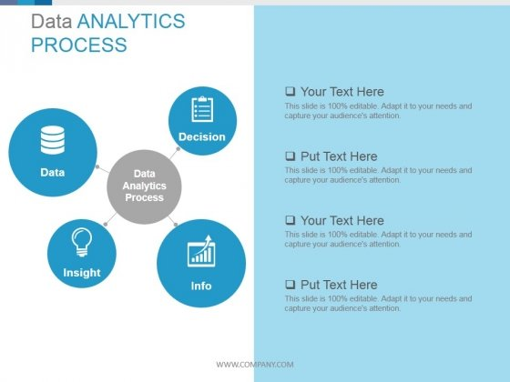 Data Analytics Process Circular Diagrams Ppt PowerPoint Presentation Guidelines