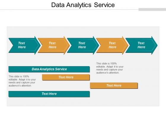 Data Analytics Service Ppt PowerPoint Presentation Ideas Background Images Cpb