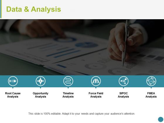 Data And Analysis Ppt PowerPoint Presentation Icon Diagrams