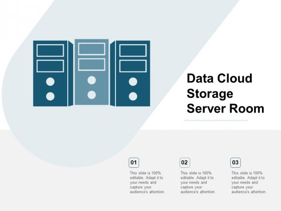 Data Cloud Storage Server Room Ppt Powerpoint Presentation Ideas Example
