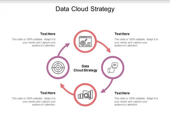 Data Cloud Strategy Ppt PowerPoint Presentation Portfolio Influencers Cpb Pdf