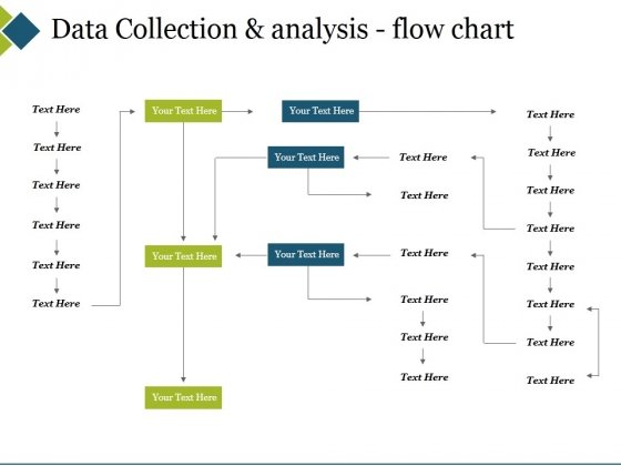 Data Collection And Analysis Flow Chart Ppt PowerPoint Presentation Model Rules