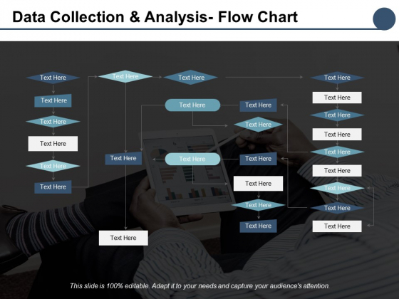 Data Collection And Analysis Flow Chart Ppt PowerPoint Presentation Outline Graphics
