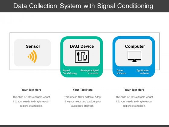 Data Collection System With Signal Conditioning Ppt PowerPoint Presentation File Design Inspiration PDF