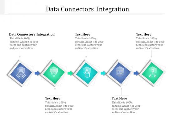 Data Connectors Integration Ppt PowerPoint Presentation Slides Clipart Cpb Pdf