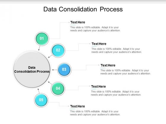 Data Consolidation Process Ppt PowerPoint Presentation Inspiration Slide Portrait Cpb