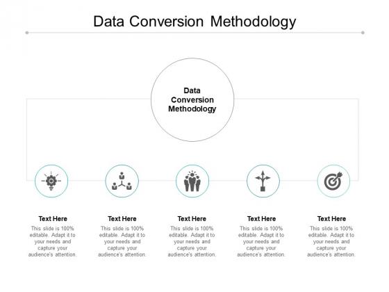 Data Conversion Methodology Ppt PowerPoint Presentation Background Image Cpb