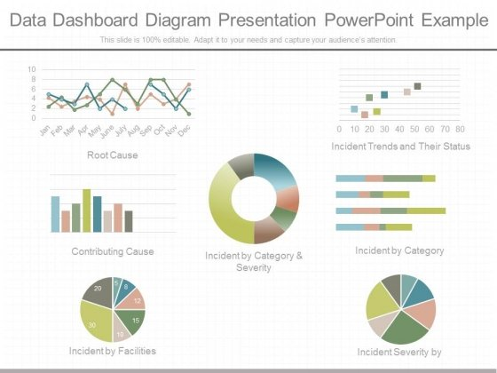 Data Dashboard Diagram Presentation Powerpoint Example