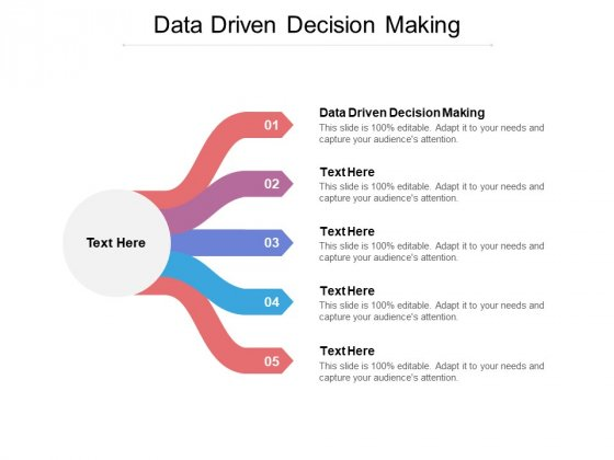 Data Driven Decision Making Ppt PowerPoint Presentation Gallery Graphic Images Cpb Pdf