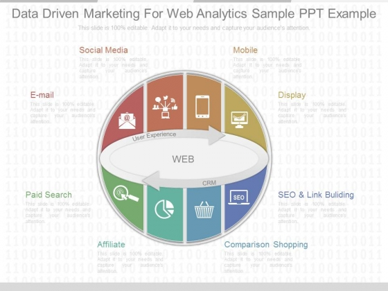 Data Driven Marketing For Web Analytics Sample Ppt Example