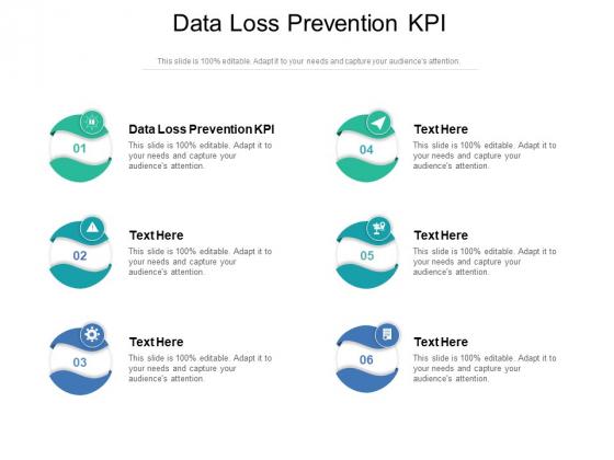 Data Loss Prevention KPI Ppt PowerPoint Presentation Styles Portfolio Cpb Pdf