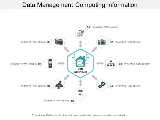Data Management Computing Information Ppt PowerPoint Presentation Inspiration Graphics Design