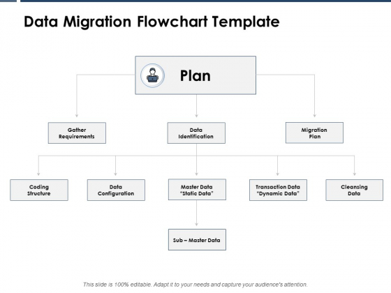 Data Migration Flowchart Template Ppt PowerPoint Presentation Inspiration Summary
