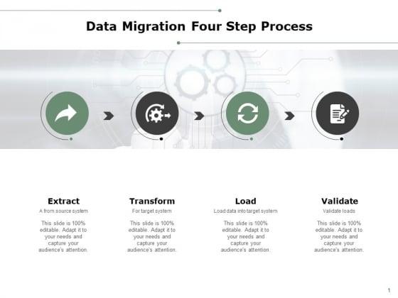Data Migration Four Step Process Ppt PowerPoint Presentation Show Pictures