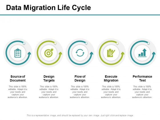 Data Migration Life Cycle Ppt PowerPoint Presentation Ideas Gallery