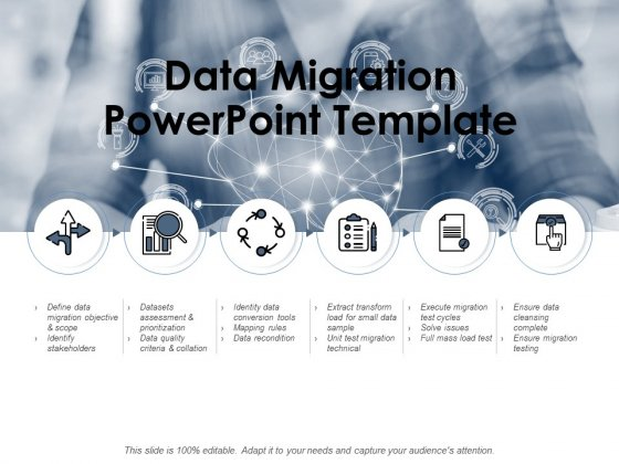 Data Migration PowerPoint Template Ppt PowerPoint Presentation Slides Vector