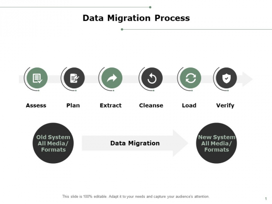 Data Migration Process Ppt PowerPoint Presentation Layouts Maker