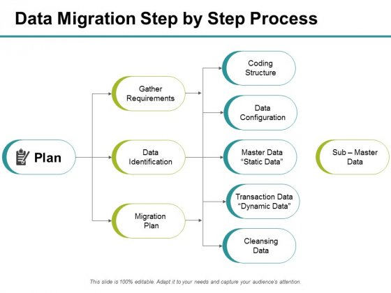 Data Migration Step By Step Process Plan Ppt PowerPoint Presentation Inspiration Layouts