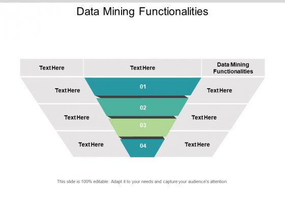 Data Mining Functionalities Ppt PowerPoint Presentation Professional Design Templates Cpb