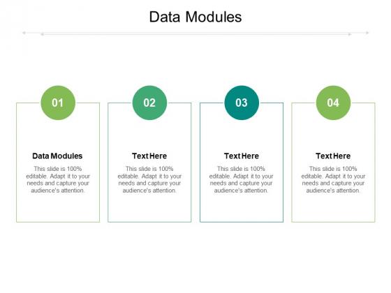 Data Modules Ppt PowerPoint Presentation Inspiration Vector Cpb Pdf