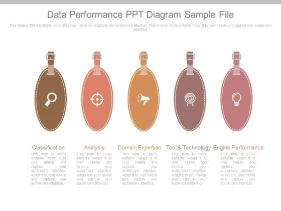 Data Performance Ppt Diagram Sample File