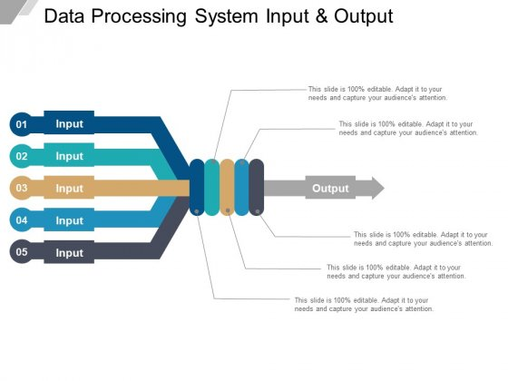 Data Processing System Input And Output Ppt PowerPoint Presentation Icon Information