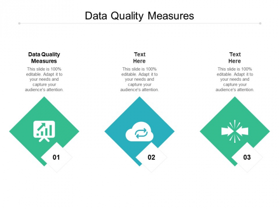 Data Quality Measures Ppt PowerPoint Presentation Gallery Topics Cpb