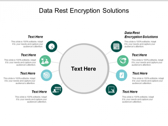 Data Rest Encryption Solutions Ppt PowerPoint Presentation