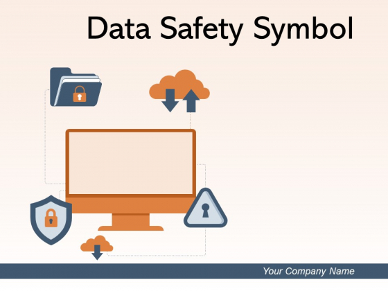 Data Safety Symbol Information Security Gear Ppt PowerPoint Presentation Complete Deck