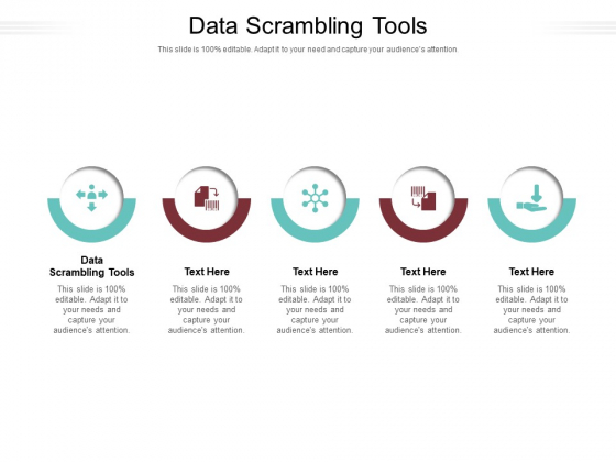 Data Scrambling Tools Ppt PowerPoint Presentation Icon Graphics Design Cpb Pdf