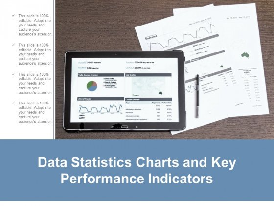 Data Statistics Charts And Key Performance Indicators Ppt Powerpoint Presentation Layouts Guide