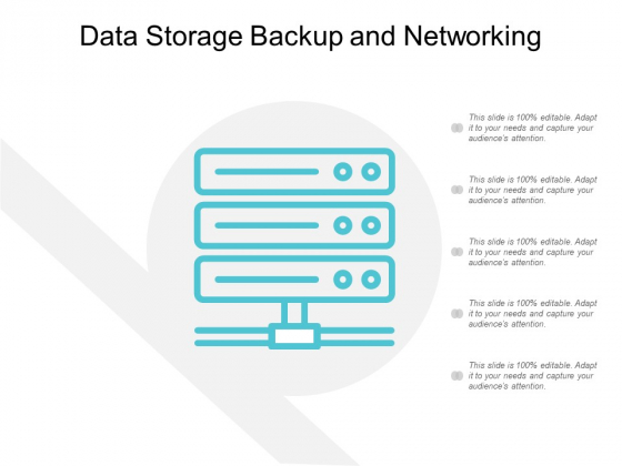 Data Storage Backup And Networking Ppt Powerpoint Presentation Icon Ideas