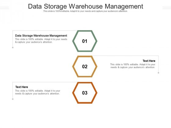 Data Storage Warehouse Management Ppt PowerPoint Presentation Outline Backgrounds Cpb Pdf