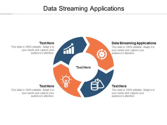 Data Streaming Applications Ppt PowerPoint Presentation Show Example Topics Cpb Pdf
