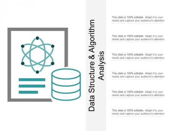 Data Structure And Algorithm Analysis Ppt PowerPoint Presentation Slides Graphics Design