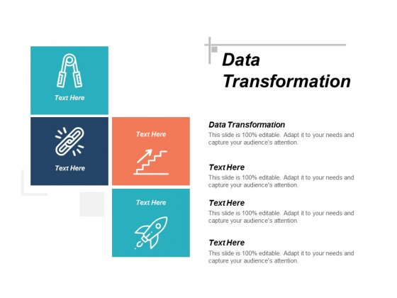 Data Transformation Ppt PowerPoint Presentation Ideas Vector Cpb