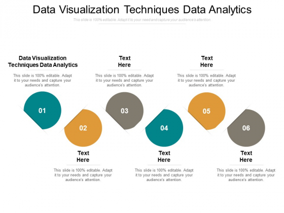 Data Visualization Techniques Data Analytics Ppt PowerPoint Presentation Outline Clipart Images Cpb