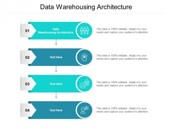 Data Warehousing Architecture Ppt PowerPoint Presentation Professional Background Designs Cpb